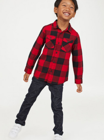 Вельветові штани на хлопчика H&M