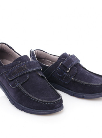 Шкільні ортопедичні туфлі з нубука