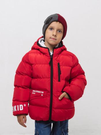 Двухсторонняя куртка на мальчика