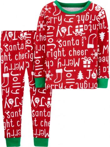 Пижама котоновая Christmas Carters