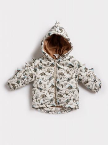 Флисовая демисезонная куртка для мальчика