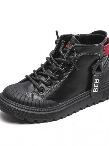 Кожаные кроссовки деми BB