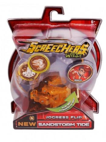 Машинка-трансформер Screechers Wild! S2 L1 - Сэндсторм Тайд