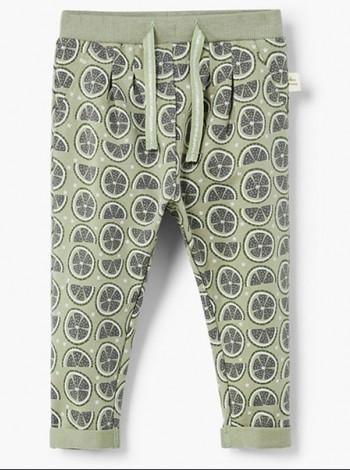 Котоновые брюки на девочку Mango