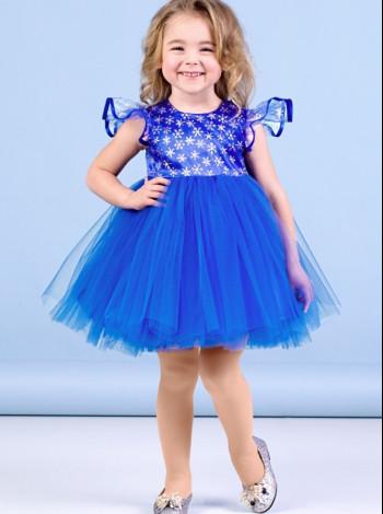 Платье на девочку Zironka синее