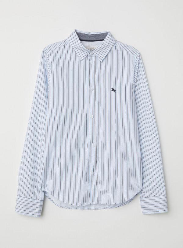 Рубашка в полоску H&M   2320