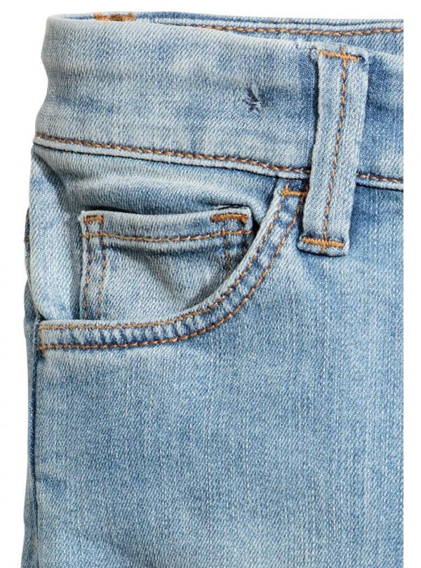 Світло-блакитні джинси H&M 646