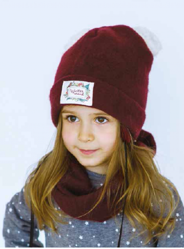 Зимний комплект на девочку Dembohouse   900