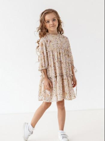 Плаття довгий рукав для дівчинки