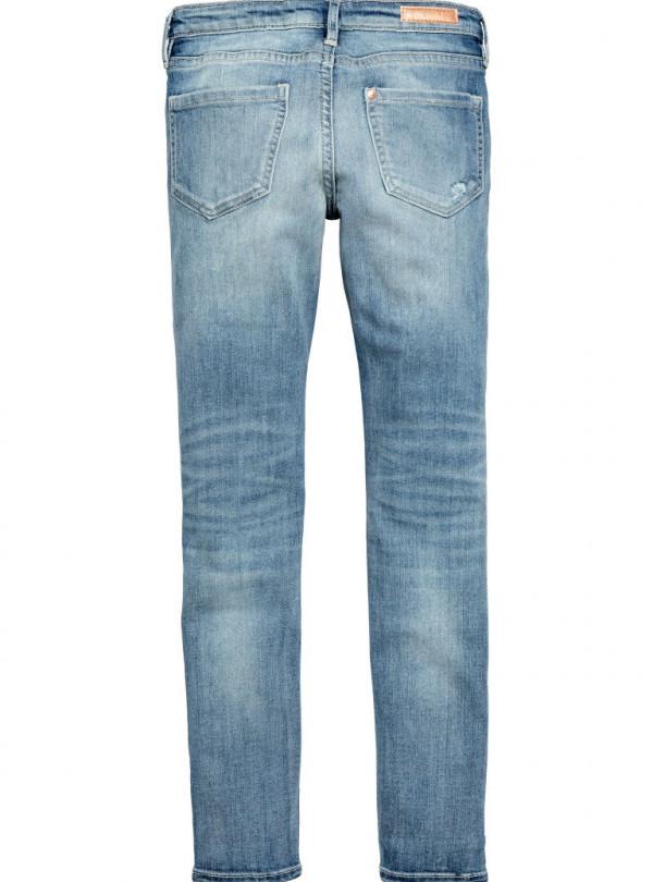 Модные потертые джинсы H&M   641