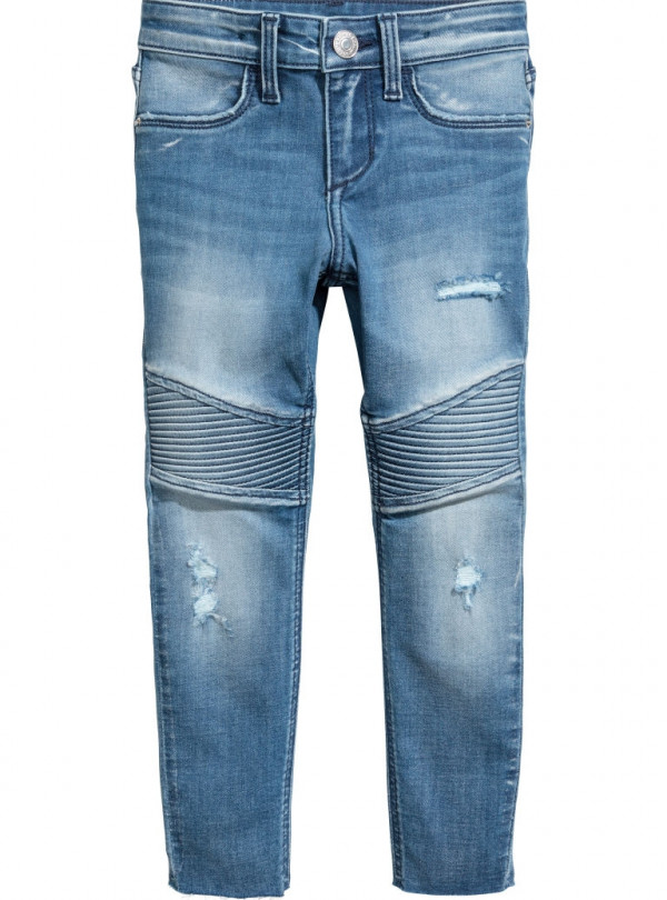 Skinny джинсы Байкер H&M   640