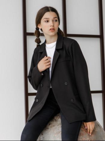 Класичний піджак для дівчинки